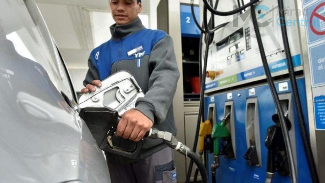 YPF aumenta un 4,5% los combustibles desde el miércoles: en nuestra región la suba será de forma