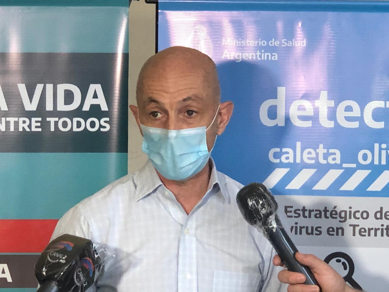 Cotillo sostuvo que es muy probable que Caleta Olivia sea declarada en aislamiento antes del 11 de octubre
