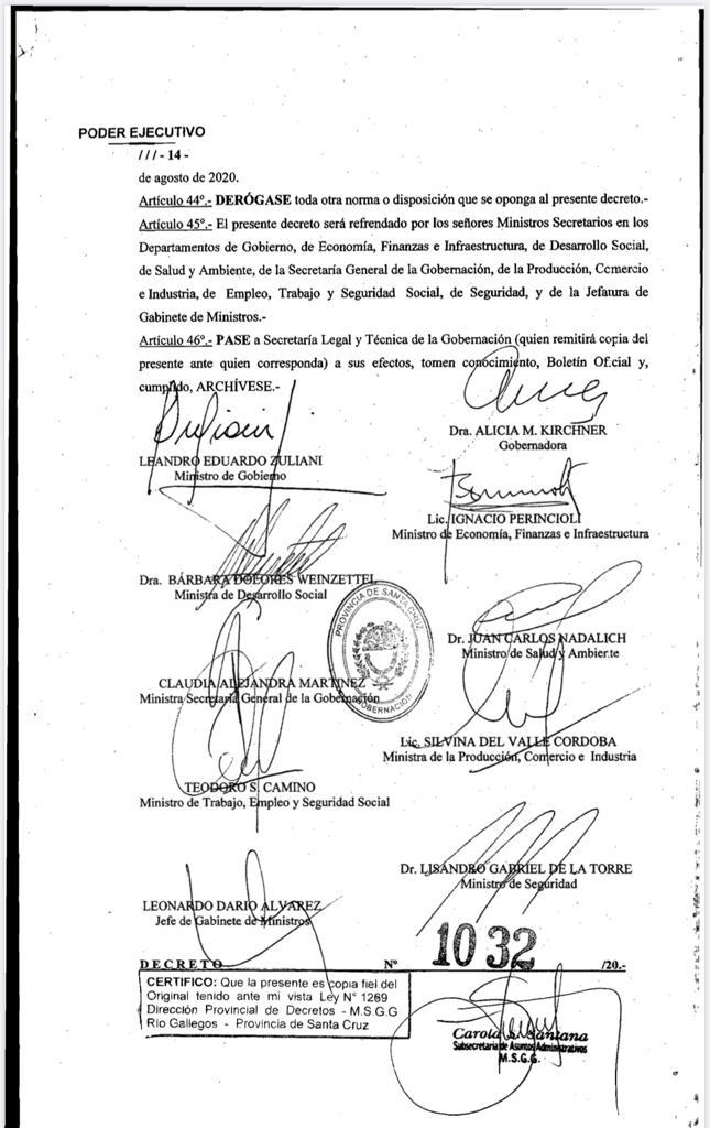 Prohibidas las reuniones sociales: Caleta Olivia seguirà en etapa de Distanciamiento social y  Gallegos en aislamiento social