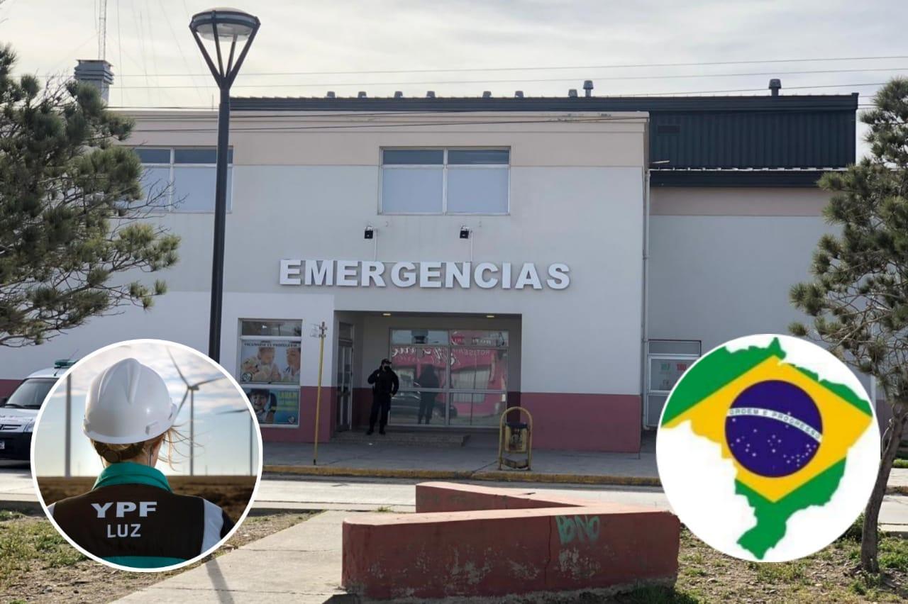 El último caso positivo de Caleta Olivia es un empleado brasileño de YPF luz, la ciudad tiene 6 casos activos y uno en Cañadon Seco