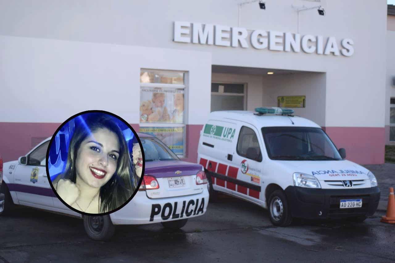 Daira Robledo sigue internada en el Hospital, perdió el ojo y una pequeña porción de masa encefálica