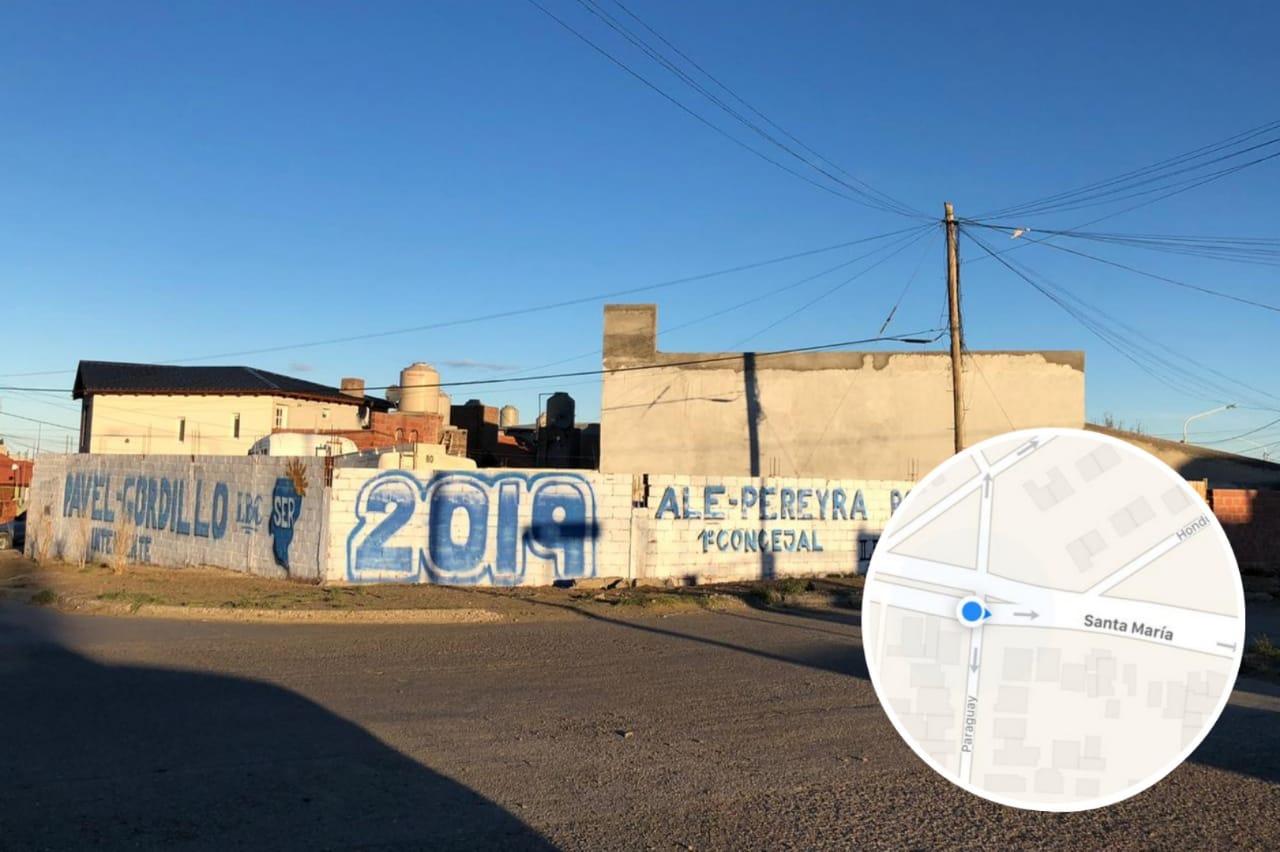 Barrio Mirador: usurpó un terreno, lo cerró con paredones y pide que la municipalidad se lo adjudique